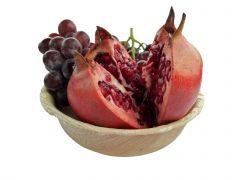 Areca Leaf round bowl 15 cm, Eco - Friendly, 100% Natural, Bio-degradable
