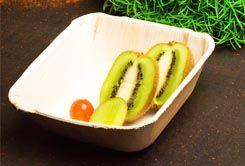 Areca Leaf square bowl 14.5 cm, Eco - Friendly, 100% Natural, Bio-degradable