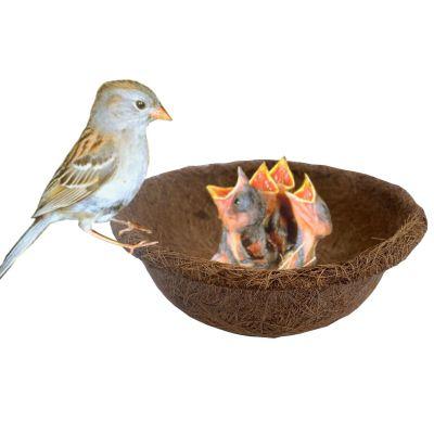 Coir birds nest bowl design