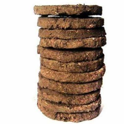 ORGANIC COW DUNG Cake Cow Patties Go-Seva Havan Gomaya Gobar Chani 10 pack