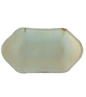 Areca Leaf boat bowl 20 cm, Eco - Friendly, 100% Natural, Bio-degradable