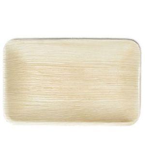 Areca Leaf rectangular plate, Eco - Friendly, 100% Natural, Bio-degradable