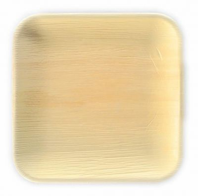 Areca Square Leaf plate 15 cm, Eco - Friendly, 100% Natural, Bio-degradable